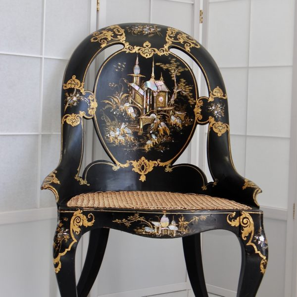 Papier-Mache chair