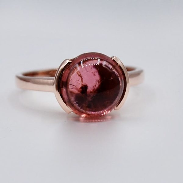 Single Stone Pink Tourmaline